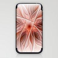 Flower Decoration iPhone & iPod Skin