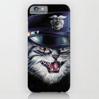 Police Cat iPhone 6 Slim Case
