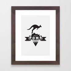 Roma, Australia Framed Art Print