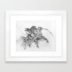 Specimen Framed Art Print