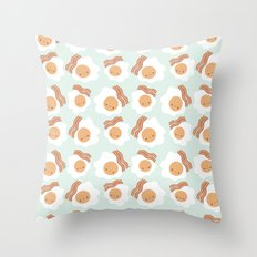 Breakfast time! Throw Pillow