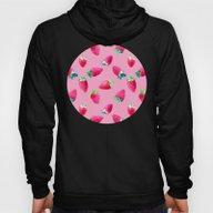 Pink Strawberry Pop Hoody