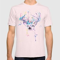 In My Mind Mens Fitted Tee Light Pink SMALL