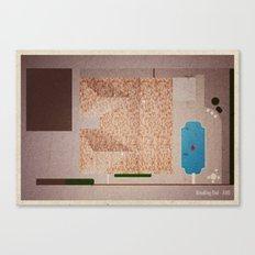 Breaking Bad - ABQ Canvas Print