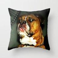 Rupert (RIP) Throw Pillow