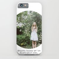 Heaven knows we're miserable now. iPhone 6 Slim Case