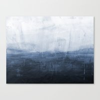 The Storm - Ocean Painti… Canvas Print