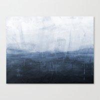 The Storm - Ocean Painti… Canvas Print