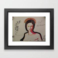 urse Framed Art Print