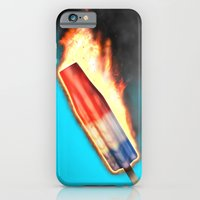 iPhone & iPod Case featuring Bomb Pop Combustion by ERASE