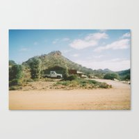 Shed Mountain Canvas Print
