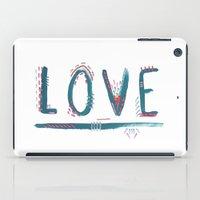Love Love Love iPad Case