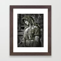 Natures Mantel Framed Art Print