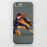 iPhone Cases featuring Batgirl by taryndraws
