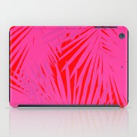 Palms Pink & Red iPad Case