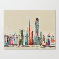San Francisco Skyline Canvas Print