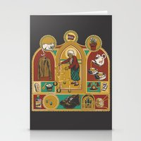 Ye Oldé Grandma Triptyc… Stationery Cards