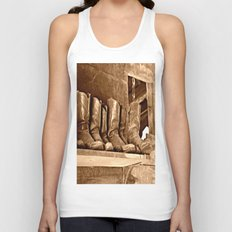 Boots Unisex Tank Top