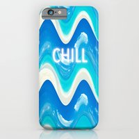 iPhone & iPod Case featuring CHILL BEACH WAVE by VisualPonderland