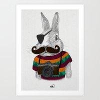 Wabbit Art Print
