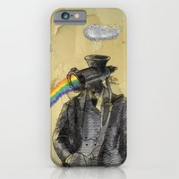 iPhone & iPod Case featuring overcast with scattered spectrums by berg with ice