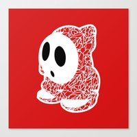 ShyGuy #CrackedOutBadGuy… Canvas Print