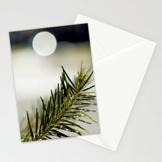 green. Stationery Cards