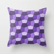 Geometrix VII Throw Pillow