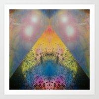 FX#401 - Cosmic Pyramid Art Print