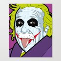 Pop Icon - Albert Joke Canvas Print