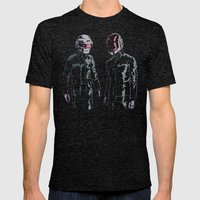 The Robots Mens Fitted Tee Tri-Black SMALL