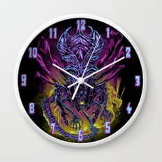 LONG LIVE THE QUEEN (color) Wall Clock