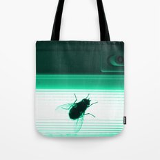 Neon Fly Tote Bag