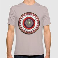 Moonflower Mens Fitted Tee Cinder SMALL