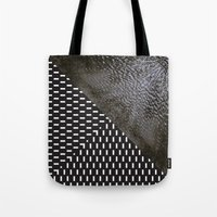 waves/grid #10 Tote Bag