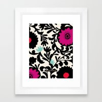 Suzanna Flower Framed Art Print