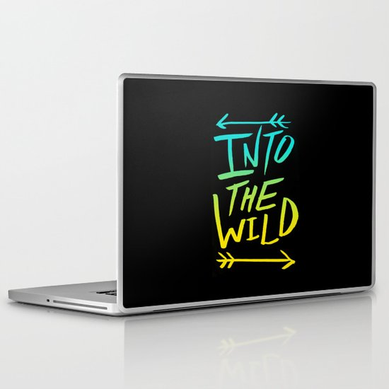 Into The Wild: Typography Laptop & iPad Skin