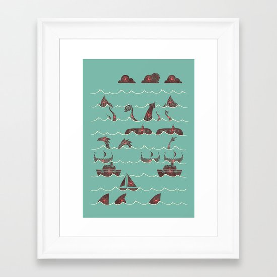 Shooting Gallery Framed Art Print