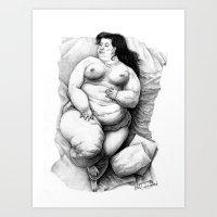 Dobras E Sobras Art Print