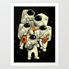 Space Jamboree Art Print
