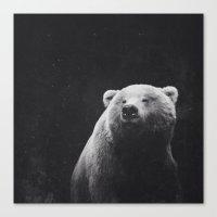 Bear Dream Canvas Print
