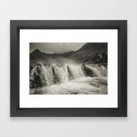 Gaelic winter Framed Art Print