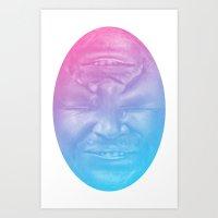 Jeff Egg Colors Art Print