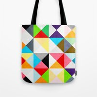Geometric Morning Tote Bag