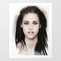 Kristen Art Print