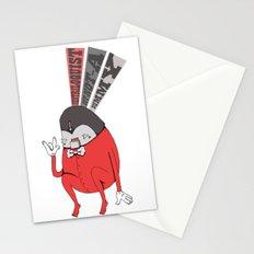 Ventriloquist Stationery Cards