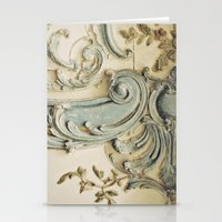 Blue Lace of Versailles Stationery Cards