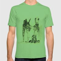 Snapshot Mens Fitted Tee Grass SMALL
