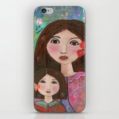 Mom and Daughter  iPhone & iPod Skin
