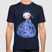 We Are Made Of Stardust Mens Fitted Tee Navy SMALL